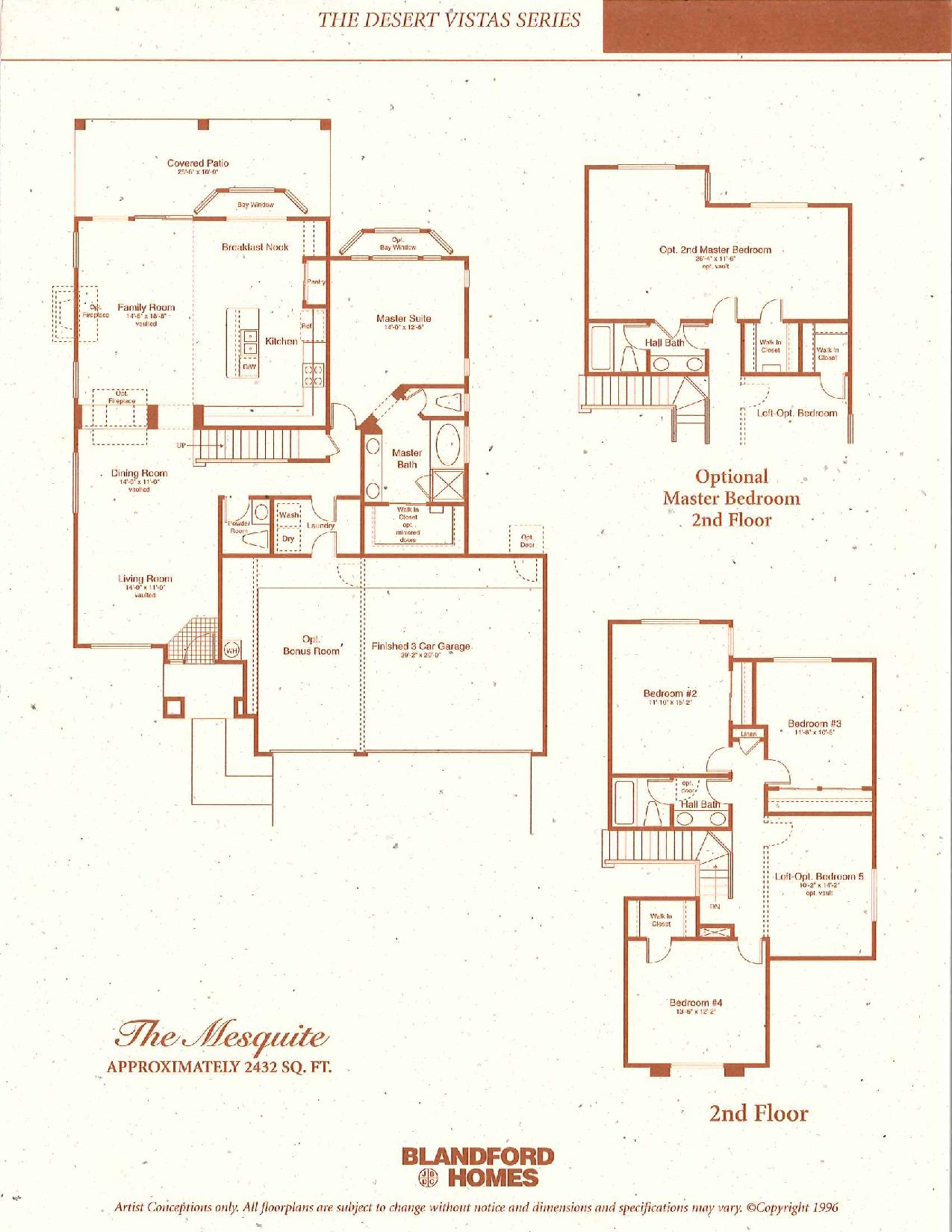 The Mesquite 2432 SQ FT