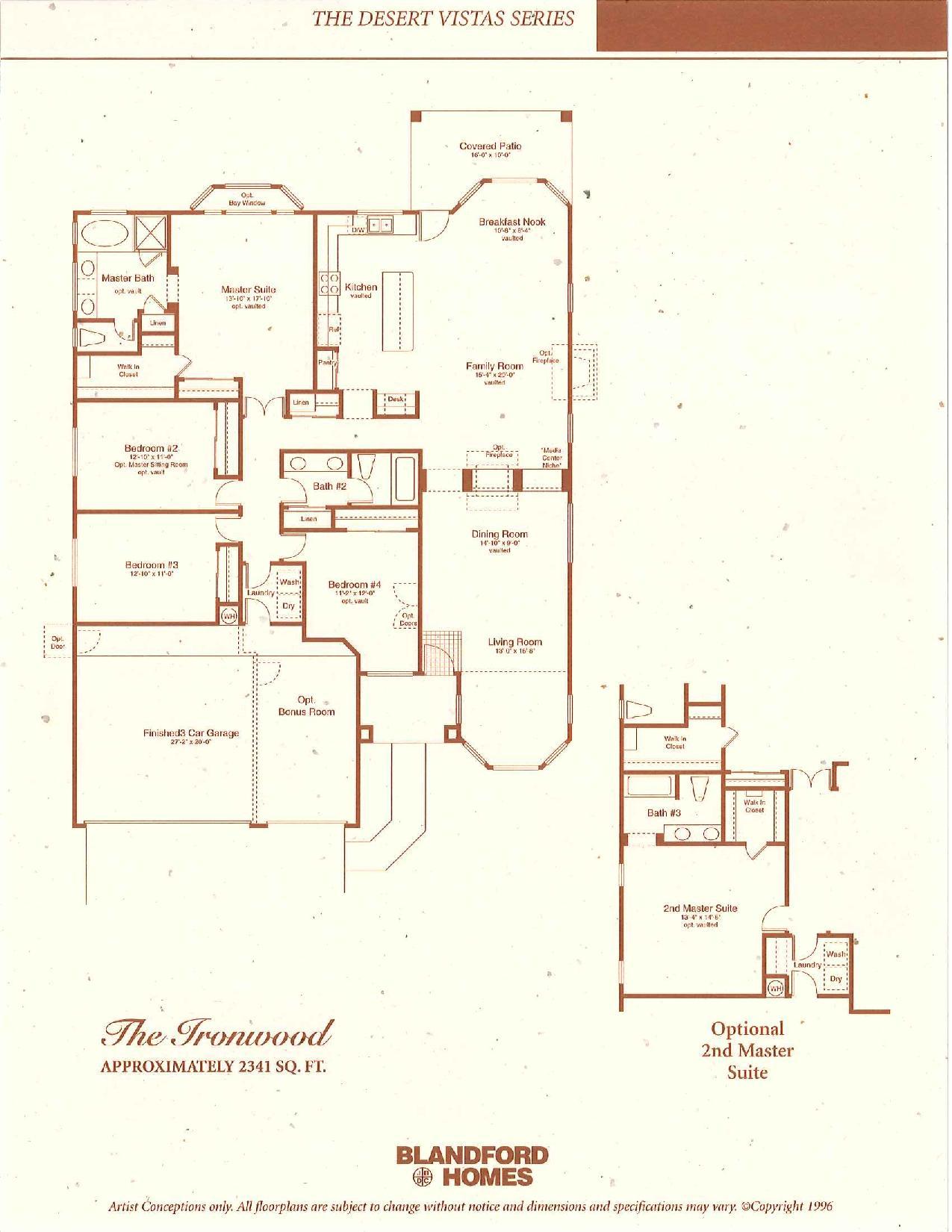 The Ironwood 2341 SQ FT