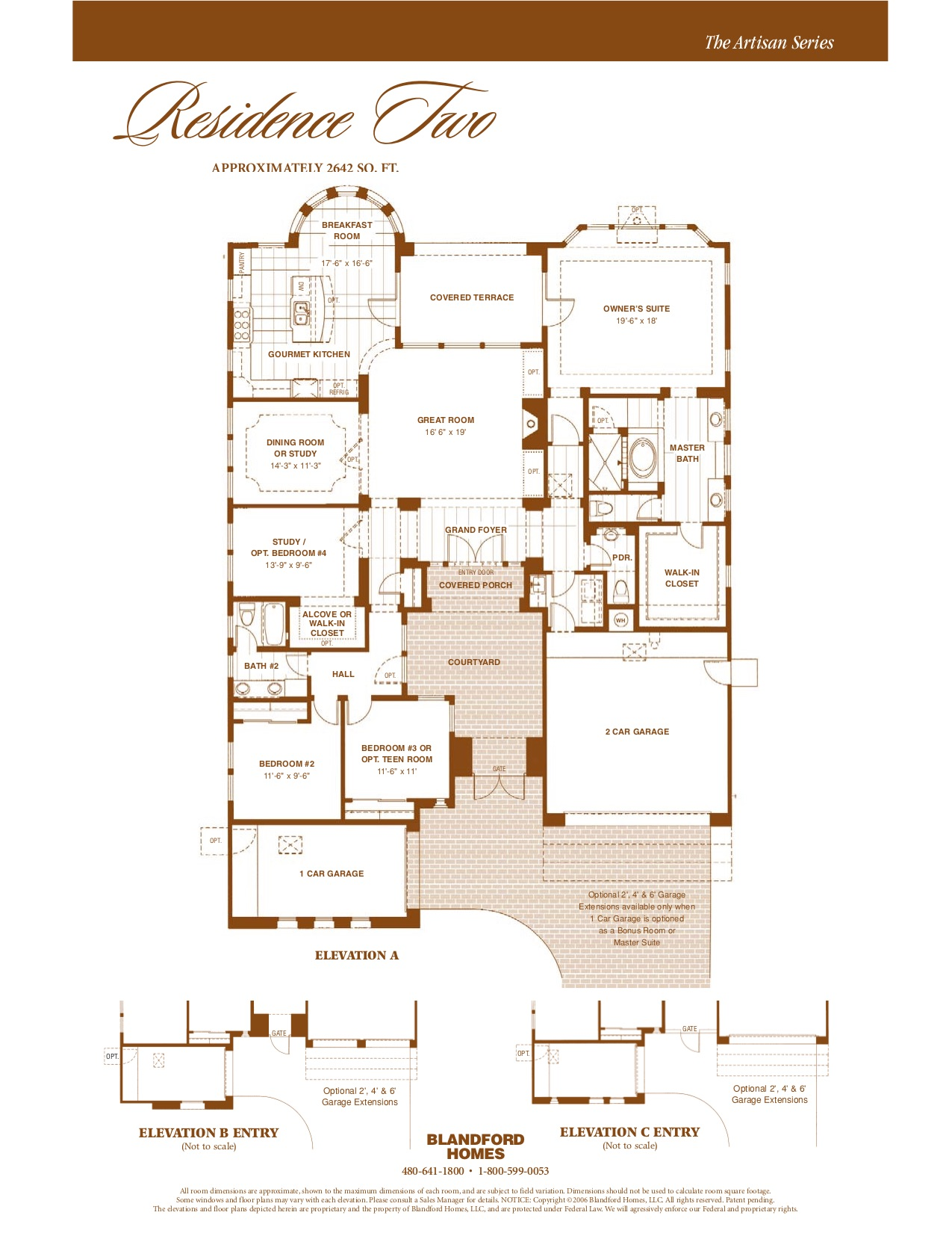 Artisan Res. Two 2642 SQ FT
